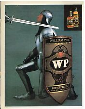 Publicité Advertising 1982 Whisky William Peel