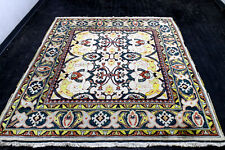 New listing 8X7 1940's Elegant Fine Rare Antique Hand Knotted Herizz Bakhshayesh Wool Rug