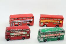 MATCHBOX DOUBLE DECKER RED GREEN BUS THE LONDONER No 17 5 74 TOUR BUS SUPERFAST