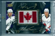 2009-10 UD BLACK PRIDE OF A NATION DUAL AUTO PATCH  DOUGHTY+ALZNER  23/25