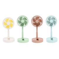 A10 Mini Portable Personal Fan 3 Speed Foldable USB Rechargeable Desk Fan #JT1