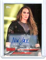 WWE Nia Jax 2018 Topps Authentic Autograph Card SN 64 of 99