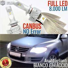 Kit Lampade Luci LED H7 VW TOUAREG 7L 7P R-line ANABBAGLIANTI 6500K CANBUS fari