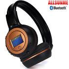 B570 Foldable Headset Stereo Wireless Music Microphone Bluetooth Headphones US