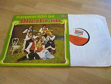 LP Trompeten Echo aus Oberkrain Sonnenschein Polka Vinyl EUROPA   E 477