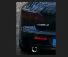 Mazda 3 Typ BK Rückleuchten schwarz foliert  – kompletter Satz (4 Teile)