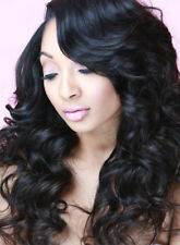 "3 Bundles/150g all 18"" Brazilian Virgin Body Wave Weave Weft 100% Human Hair"