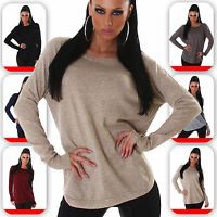 Damen Pullover Pulli Sweater Strick Sweatshirt 34 36 38