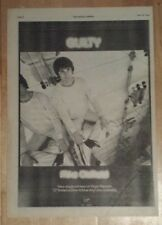 Mike Oldfield Guilty 1979 press advert Full page 28 x 39 cm mini poster