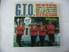 RONNY AND THE DAYTONAS - G.T.O. - LP ORANGE VINYL NEW SEALED 1997