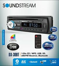 SOUNDSTREAM DX-30BT CAR STEREO CD USB SD AUX PLAYER RADIO WITH BLUETOOTH