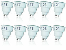 10 X 9 Watt Reflektor Energiesparlampe GU10 Sockel Energieeffizienz: A Warmweiß