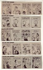 Calvin and Hobbes by Bill Watterson - 22 scarce daily comic strips - March 1986