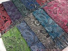 US SELLER |10pcs wholesale  paisley floral classic viscose pashmina scarf