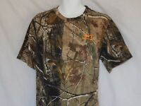 NEW Realtree AP Camo Short Sleeve T Shirt Camouflage Outdoor Hunting Mens Sizes