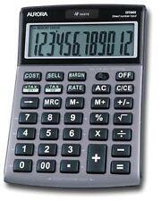 Aurora DT661 Desktop Calculator Multifunction 12 DIGIT 3 Key Memo