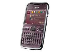 Nokia E72 Purple (Unlocked)Smartphone 5MP WIFI GPS QWERTY keyboard