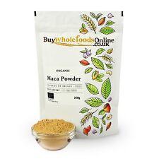 Organic Maca Poudre 250 g | Acheter Whole Foods En Ligne | Gratuit UK p&p