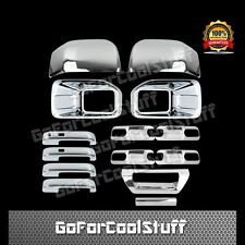 15-16 FORD F150 Fog Light 2 Mirror 4 Door Handle 4 Bowl 1 Tailgate Chrome Cover