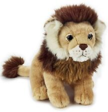 NATIONAL GEOGRAPHIC PLUSH LION 24CM STUFFED ANIMAL TOY - BNWT