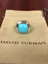 David Yurman  Albion Turquoise Ring - SIZE 7 -