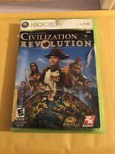 Civilization Revolution Xbox 360 Game Complete Case With Manual