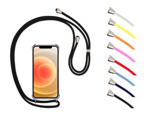 "Funda Colgante Transparente Anti-Shock Cordon Para Apple iPhone 13 Pro 5G 6.1"""