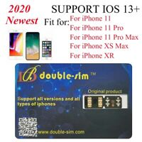 Newest Double SIM Unlock Turbo Card for iPhone 11/11 Pro/11 Pro Max/XR iOS 14.3
