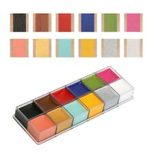 Face Body Paint Oil Painting Art Make Up Tool Party Costume Kit 12 Colors #1
