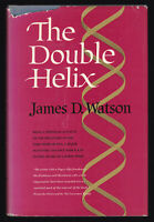 1968 Vtg James D Watson The Double Helix DNA Sequence First Edition 1st Printing