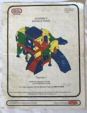 Little Tikes Playcenter 2 Assembly Manual Model #6502/6504