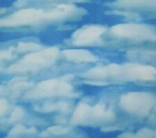 Aviator BTY Dan Morris Quilting Treasures Deep Blue Cloudy Sky