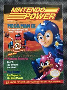 Volume 20 Nintendo Power video gaming magazine back issue Jan-1991 Mega Man 3