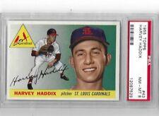 1955 Topps #43 Harvey Haddix St. Louis Cardinals PSA NM-MT 8