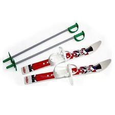 Kinderski Babyski Lernski 70cm Ski für Kinder in Farbe Weiß Clown