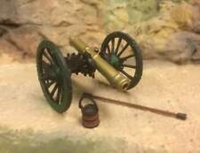 NAPOLEONIC WARS, FRENCH. CANNON , 54MM PAINTED METAL CANNON