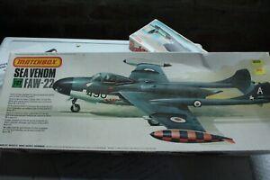 MATCHBOX Sea Venom FAW-22 Military aircraft model 1/32nd scale