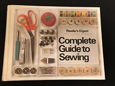 READER'S DIGEST COMPLETE GUIDE TO SEWING (1976 HARDBACK)
