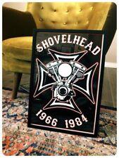SHOVELHEAD Engine print Harley Davidson motorcycle motor poster vintage chopper