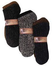 Alpaca Men Socks Winter Boot Heavy Warm Thermal Comfortable Outdoor 2-Pack 7-9 M