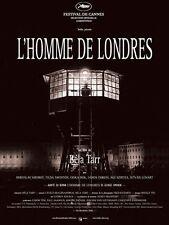 Affiche 120x160cm L'HOMME DE LONDRES (A LONDONI FÉRFI) 2008 Bela Tarr NEUVE