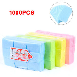 1000x Nail Art Wipes Lint Cleaner Paper Pad Acrylic Gel Polish Tips Remover