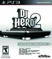 Dj Hero 2 (Game Only) Playstation 3 Ps3 Complete in Box W/ Manual Very Good