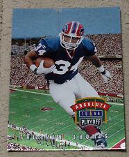 1996 Playoff Absolute #048 THURMAN THOMAS - Buffalo Bills - NFL HOF
