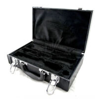 **GREAT GIFT** High Quality Vegan Leather Bb Clarinet Case w Shoulder Strap