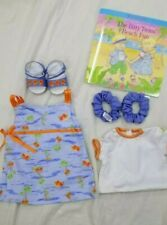 New American Girl -  Bitty's Baby Fun-in-the-Sun Jumper Set + BOOK