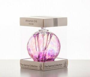 Sienna Glass - ATTRACTION ORB MOUTH BLOWN GLASS BALL - Healing Spirit Ball