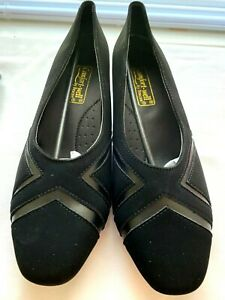 NEW Black Shoes Pumps Size 8 1/2 Comfort Well by Beacon Suede Women