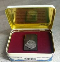 Zippo 60th Anniversary Windproof Feuerzeug (1932-1992) Comme Neu / Mit Dose