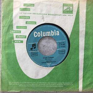 EDITH PIAF: C'est l'amour / Exodus (Single Columbia C 21 847 / Mono)